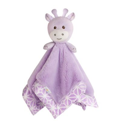 CoCaLo® Mix & Match Violet Giraffe Security Blanket in Lavender
