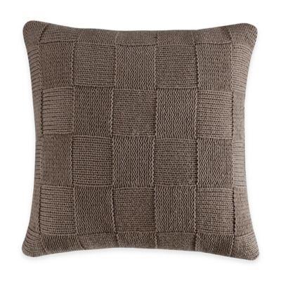 Bridge Street Crawford Square Throw Pillow in Brown