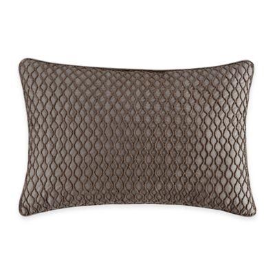 Bridge Street Loom Oblong Throw Pillow in Pebble
