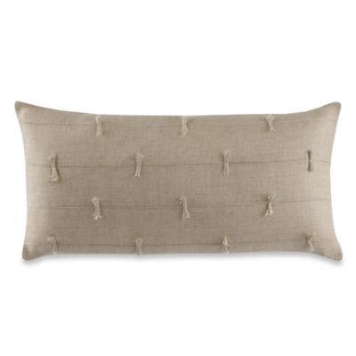 Wamsutta® Secret Garden Bowtie Oblong Throw Pillow in Natural