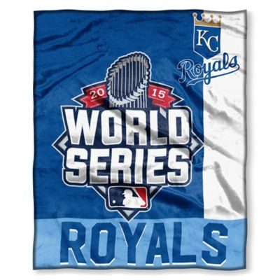 MLB Kansas City Royals 2015 World Series Throw Blanket