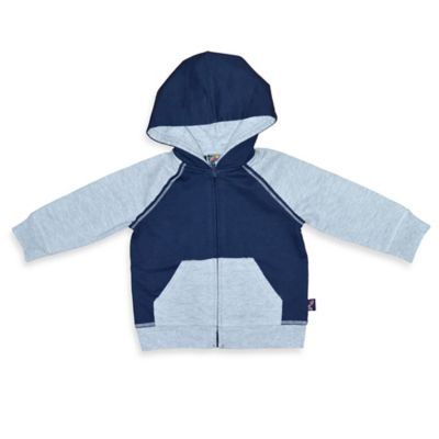Charlie Rocket™ Size 3M French Terry Hoodie in Navy