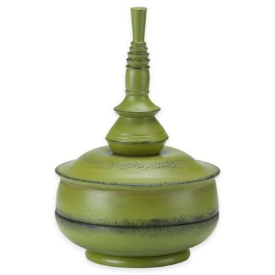 Bombay® Outdoors Small Balinese Finial in Celery