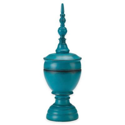 Bombay® Outdoors Large Balinese Finial in Indigo