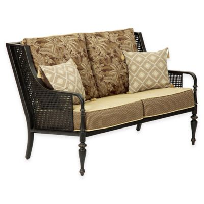 Bombay® Sherborne Love Seat in Brown