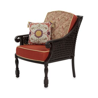 Bombay® Glenburn Arm Chair in Red
