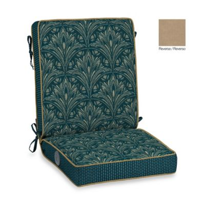 Bombay® Royal Zanzibar Adjustable Comfort Chair Cushion