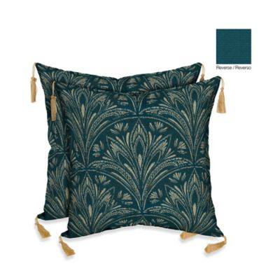 Bombay® 16-Inch Royal Zanzibar Throw Pillow (Set of 2)
