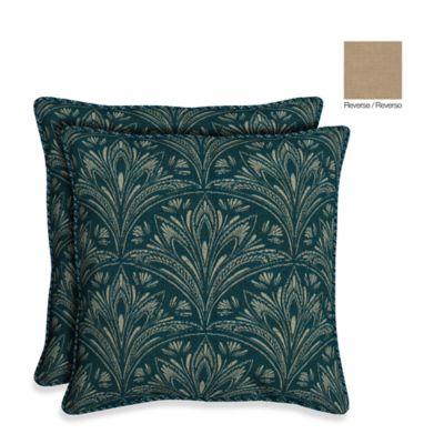 Bombay® 21-Inch Royal Zanzibar Throw Pillow (Set of 2)
