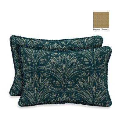 Bombay® 13-Inch x 20-Inch Royal Zanzibar Throw Pillow (Set of 2)