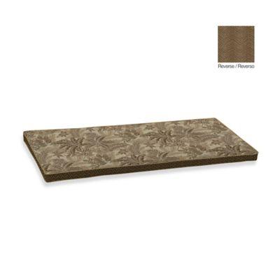 Bombay® Palmetto Bench Cushion in Mocha