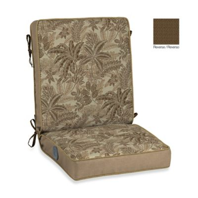 Bombay® Palmetto Adjustable Comfort Chair Cushion in Mocha