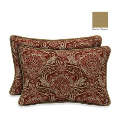 Bombay® 13-Inch x 20-Inch Venice/Kenya Throw Pillow (Set of 2)