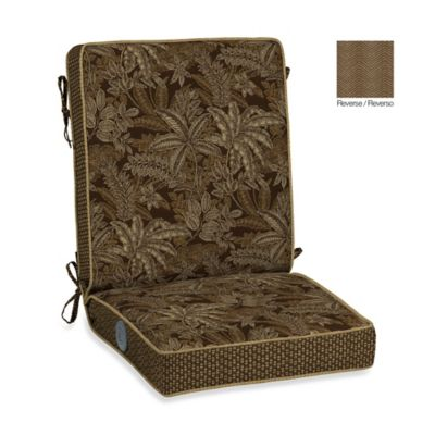 Bombay® Palmetto Adjustable Comfort Chair Cushion in Espresso