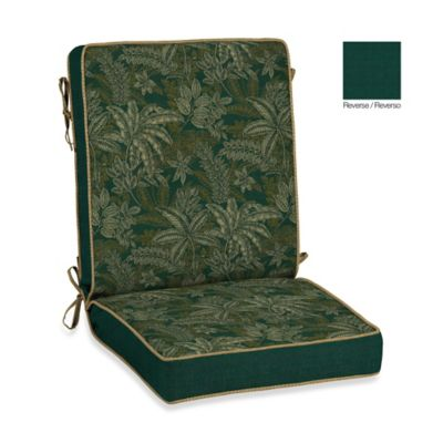 Bombay® Palmetto Chair Cushion in Jungle Green