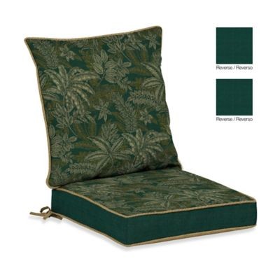 Bombay® Palmetto Dining Cushion Set in Jungle Green