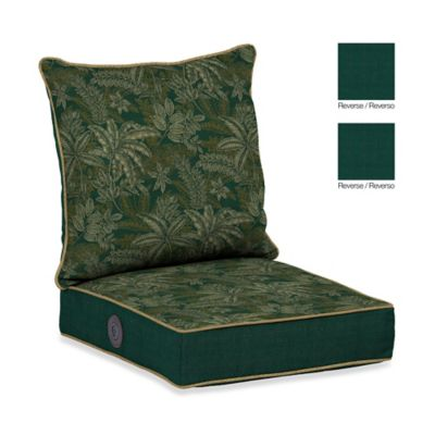 Bombay® Palmetto Adjustable Comfort Deep Seat Set in Jungle Green
