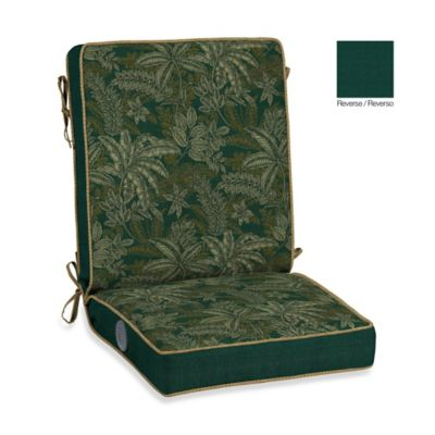 Bombay® Palmetto Adjustable Comfort Chair Cushion in Jungle Green