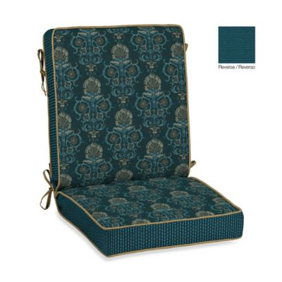 Bombay® Anatolia Blue Chair Cushion