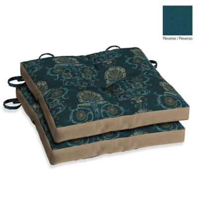 Bombay® Anatolia Blue Bistro Cushions (Set of 2)