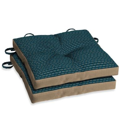 Bombay® Rhodes Indigo Bistro Cushions (Set of 2)