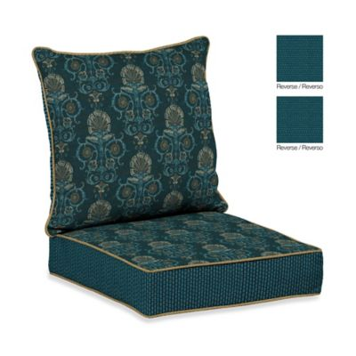 Bombay® Anatolia Blue Deep Seat Cushion Set