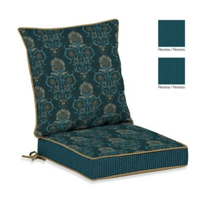 Bombay® Anatolia Blue Dining Cushion Set