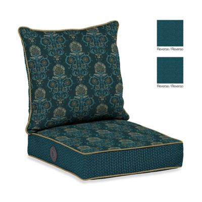 Bombay® Anatolia Blue Adjustable Comfort Deep Seat Set