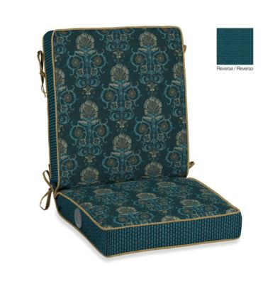 Bombay® Anatolia Blue Adjustable Comfort Chair Cushion