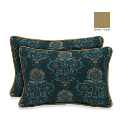 Bombay® 13-Inch x 20-Inch Anatolia Blue/Kenya Throw Pillow (Set of 2)