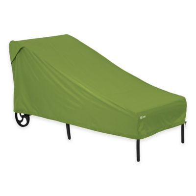 Classic Accessories® Sodo Patio Chaise Lounge Cover in Green