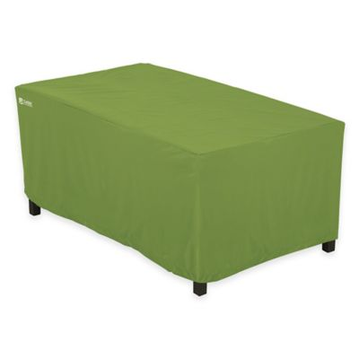 Classic Accessories® Sodo Patio Rectangular Coffee Table Cover in Green