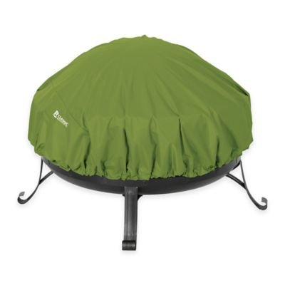 Classic Accessories® Sodo Round Fire Pit Cover in Green