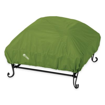 Classic Accessories® Square Fire Pit Cover in Green