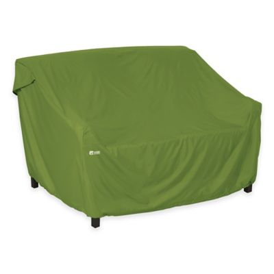 Classic Accessories® Sodo Small Patio Sofa/Loveseat Cover in Green