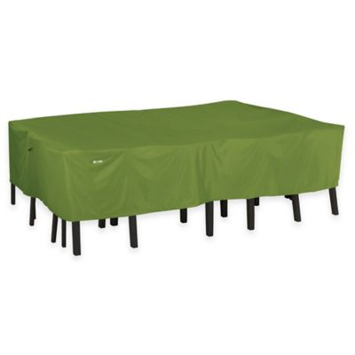 Green Table and Chair Covers