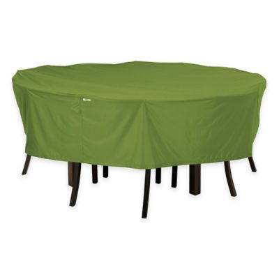 Round Weather Table Cover