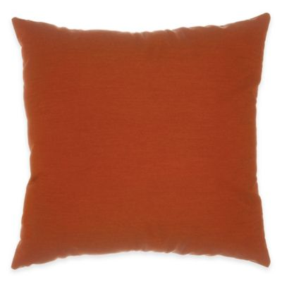 Pawleys Island 24-Inch x 24-Inch Decorative Hammock Pillow in Canvas Brick