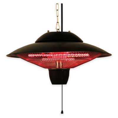 EnerG+ Hanging Gazebo Heater in Black
