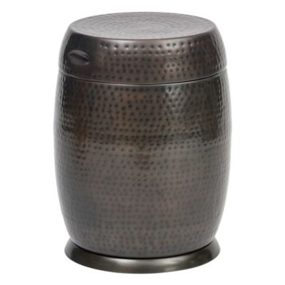 Bombay® Outdoors Madras Drum Table in Silver