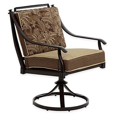 bombay normandy outdoor swivel dining chairs set of 2