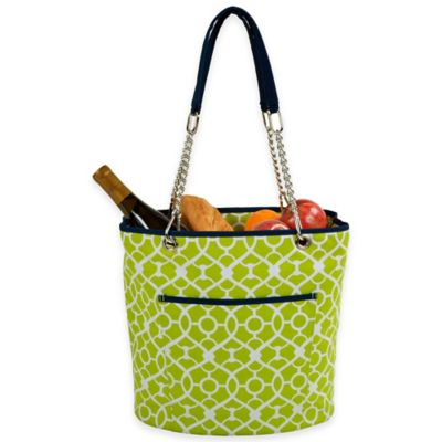 Green Picnic Baskets Totes