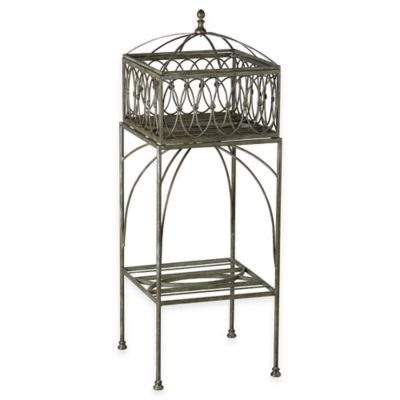 Bombay® Lyon Outdoor Filigree Planter and Stand