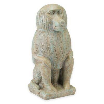 Bombay® Nubian Baboon Outdoor Statue