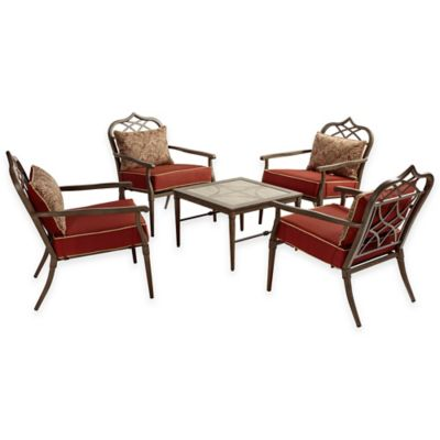 Bombay® Taj 5-Piece Outdoor Chat Set
