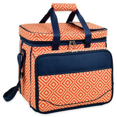 Picnic at Ascot Diamond Collection Picnic Cooler for 4