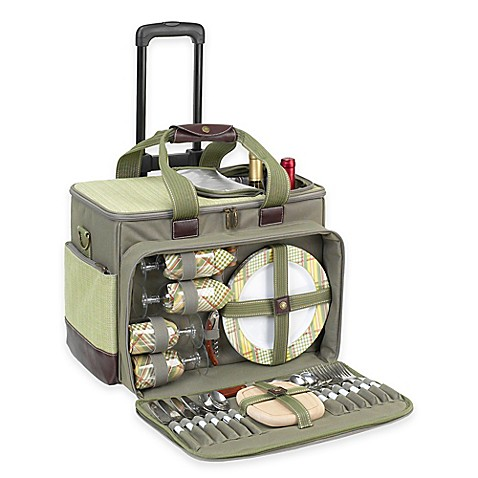 Buy Picnic At Ascot Hamptons Deluxe Picnic Cooler For 4