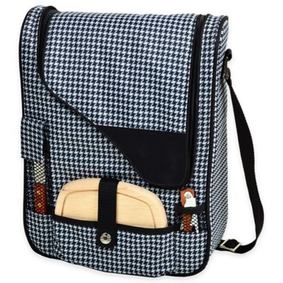 Picnic at Ascot Houndstooth Collection Pinot Wine & Cheese Cooler