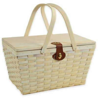 Steel Picnic Baskets for 4