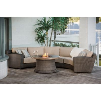 Agio™ San Rafael 4-Piece Fire Pit Conversation Set
